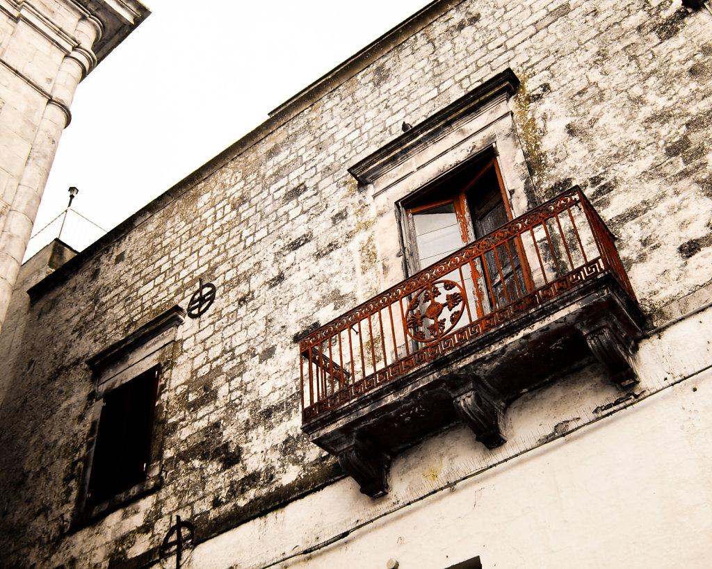 Red Balcony